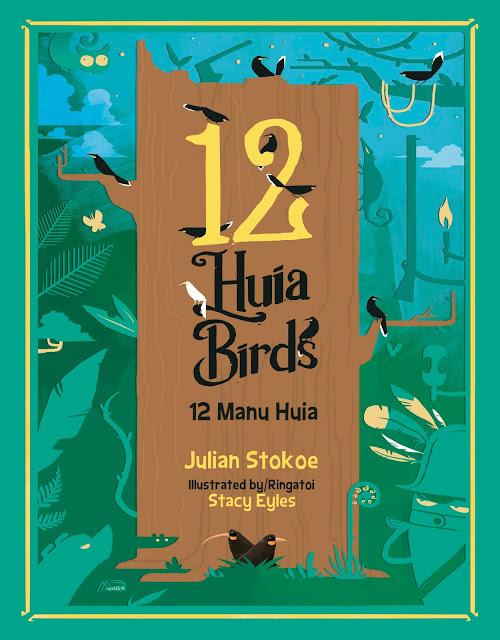 12 Huia Birds/12 Manu Huia