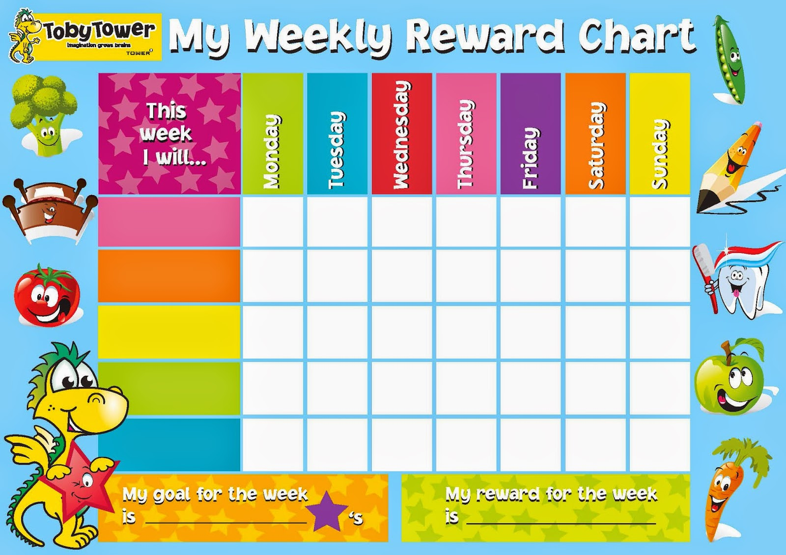 Sally's mummy blog: How to Use a Reward System for Children