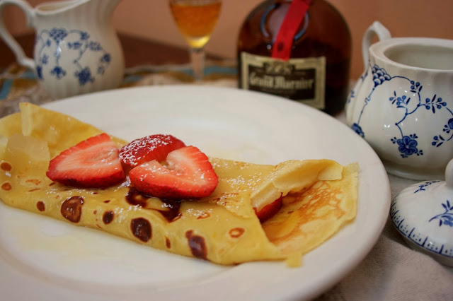 Butter and Rum Crepes: simplelivingeating.com
