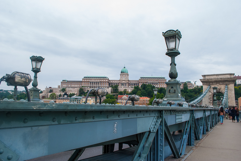 The chain bridge in budapest + advice for year abroad
