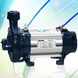 Silver Single Phase Open Well Pump M-26 (0.75HP) (Copper Rotor) Online, India - Pumpkart.com