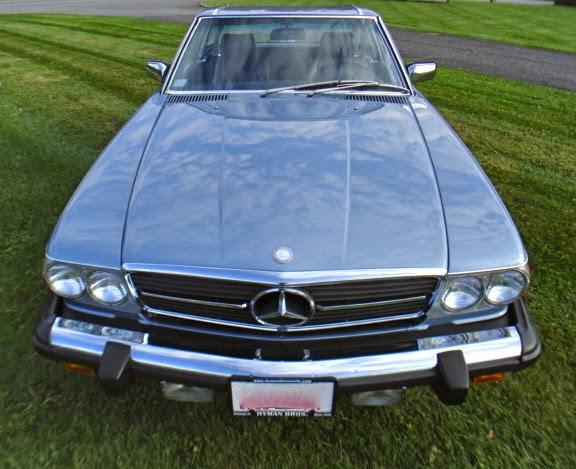 1987 mercedes benz 560sl r107 for Mercedes benz average price
