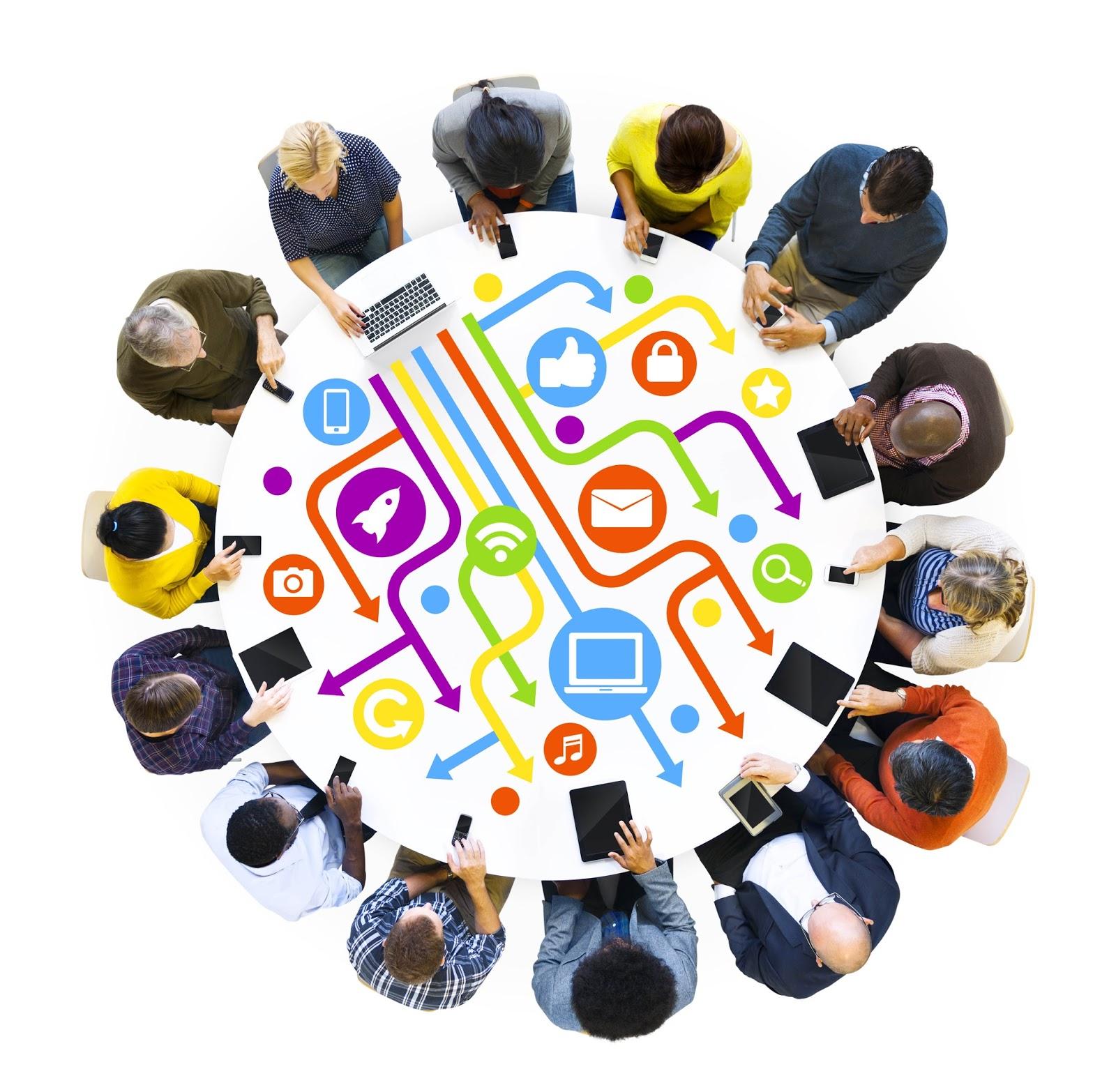 firmamento iluminado de saber  impacto comunicativo de las redes sociales en la sociedad actual