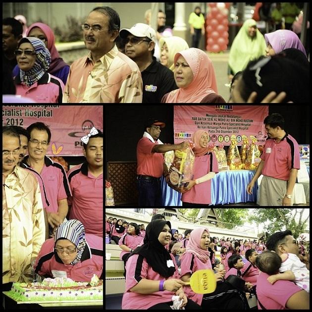 Dato Mohd Ali Rustam, ketua menteri melaka, perasmian, upacara cabutan bertuah, menyampaikan hadiah, tiup kek