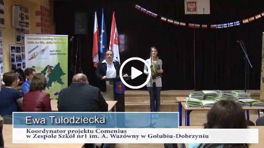 Comenius en la televisión polaca