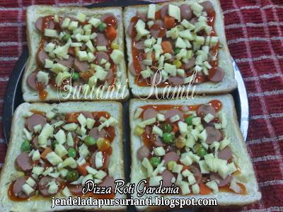 Cara Buat Pizza Homemade Dengan Roti Gardenia