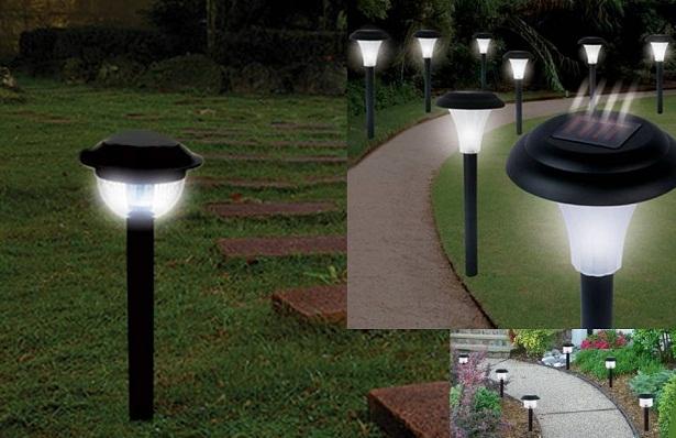 Aprovechamiento de la energia solar 1 lamparas solares en - Lampara de jardin solar ...