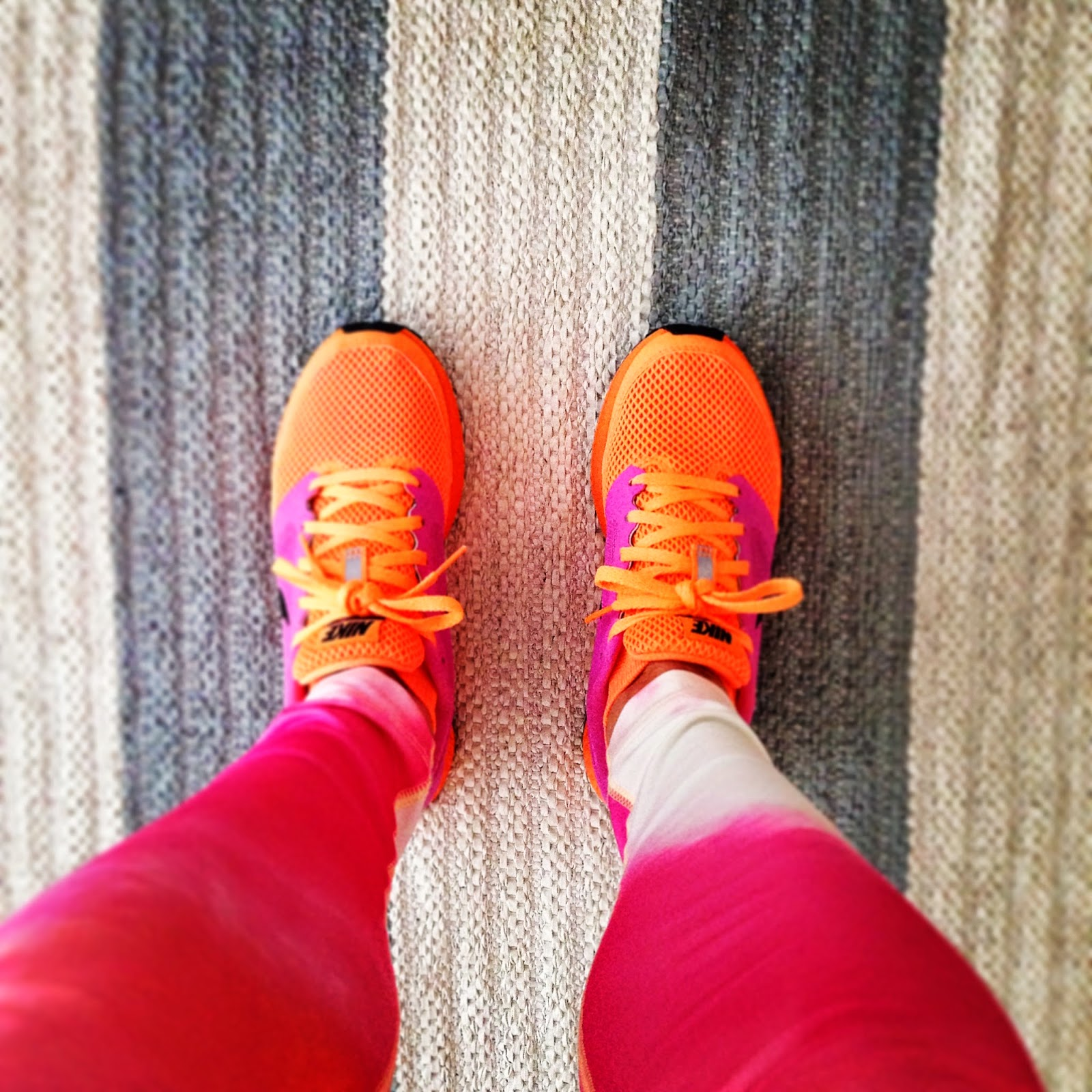 zoomfly, nike, nikerunning, nikeleggings, niketights, sunset