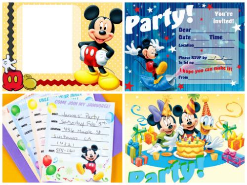 Προσκλητήρια Mickey