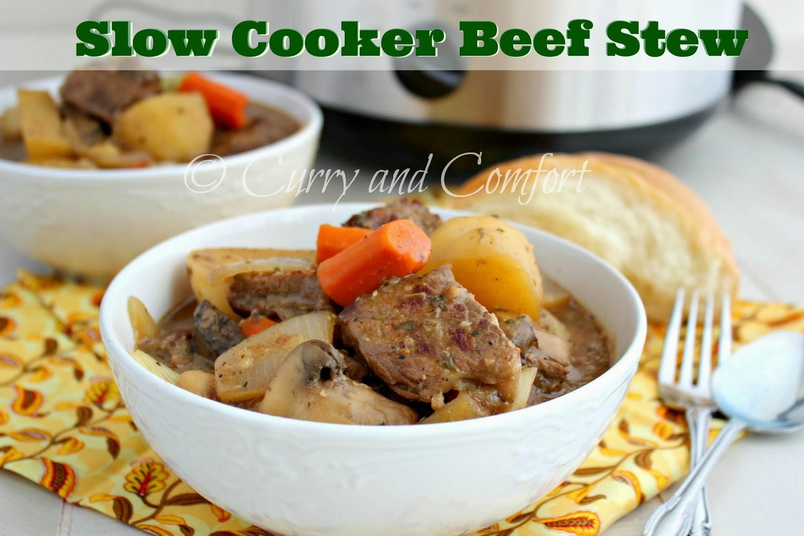 Kitchen Simmer: Beef Stew in the Slow Cooker #crocktoberfest2013