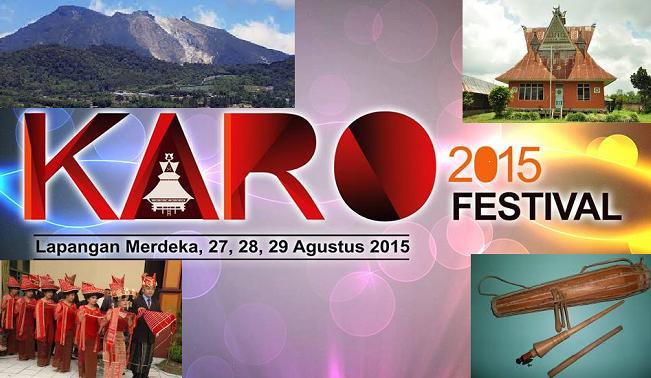 Festival Suku Karo 3 Hari Tiket Gratis ( 27 - 28 - 29  Agustus 2015 ) Ada Syahrini CS