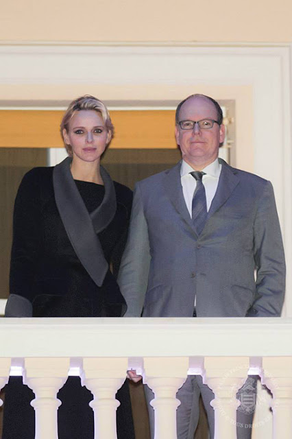 Albert and Charlene recently relocated to a villa on the outskirts of Monaco while renovation work takes place