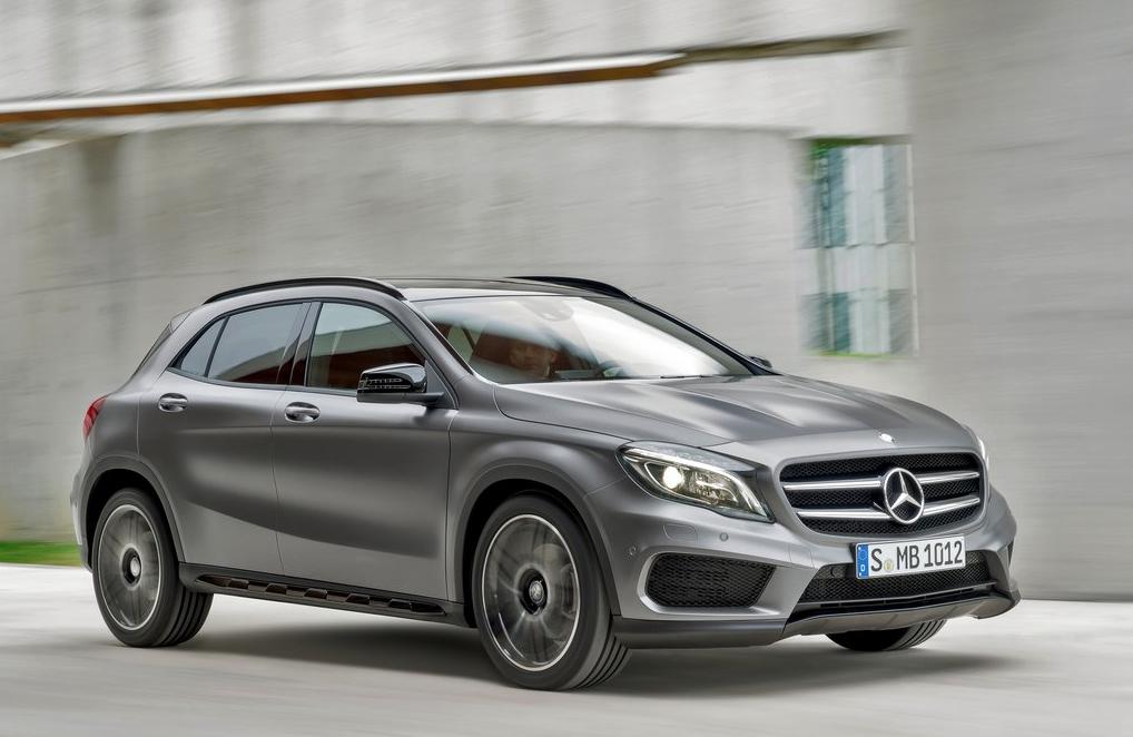 2015 Mercedes-Benz GLA-Class grey