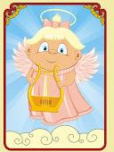 Ангел,несущий вдохновение