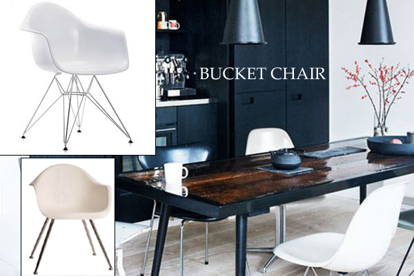 Home redesign hk white dining chairs for White bucket dining chairs