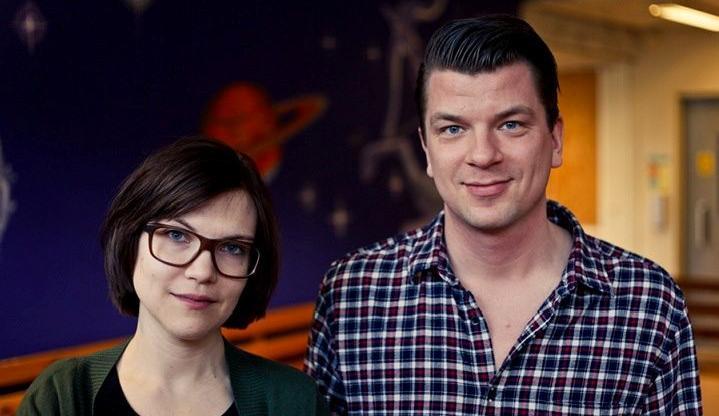 Mats Strandberg y Sara B. Elfgren