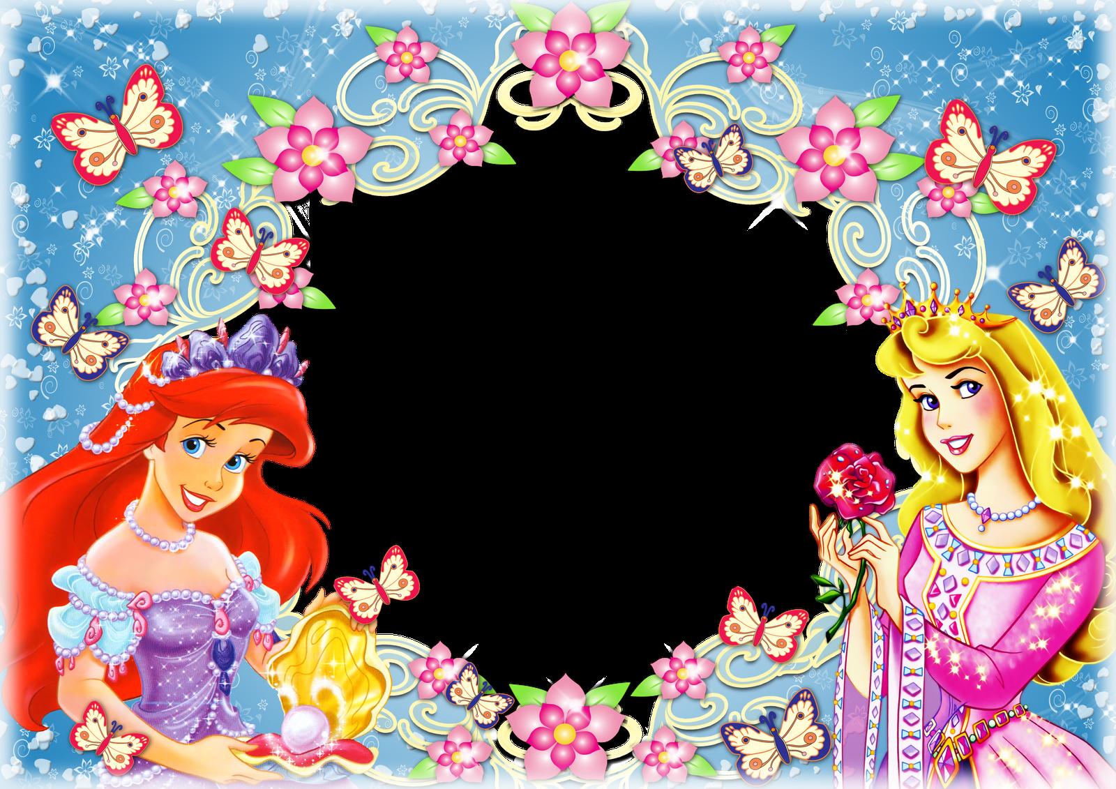 Marcos para tus fotos gratis Disney Princesas fondo transparente ...