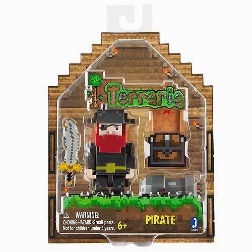 JUGUETES - TERRARIA  Pirate - Pirata | Figura - Muñeco  Producto Oficial Videojuego | A partir de 6 años