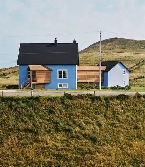 Casa de campo original en Quebec, Canadá