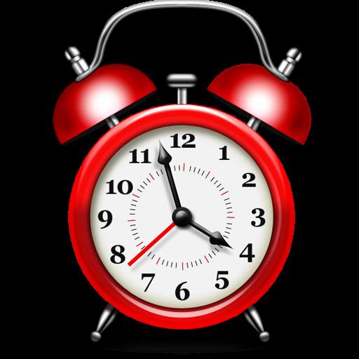 Free Alarm Clock Icon PSD