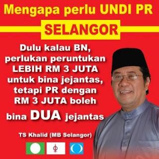 Tan Sri Khalid Ibrahim Menteri Besar Selangor