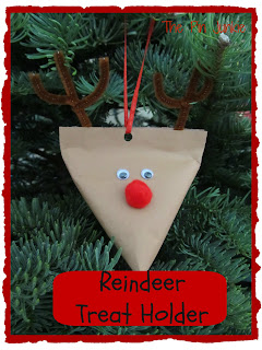 Reindeer Treat Holder