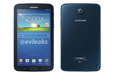 Blue Samsung Galaxy Tab 3 7.0 revealed in leaked press render