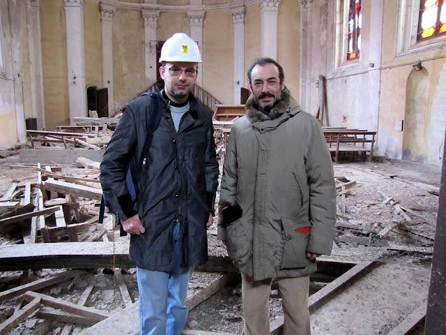 Stefano Ceccarini, Matteo Giunti, Chiesa degli Olandesi, Dutch church, Livorno