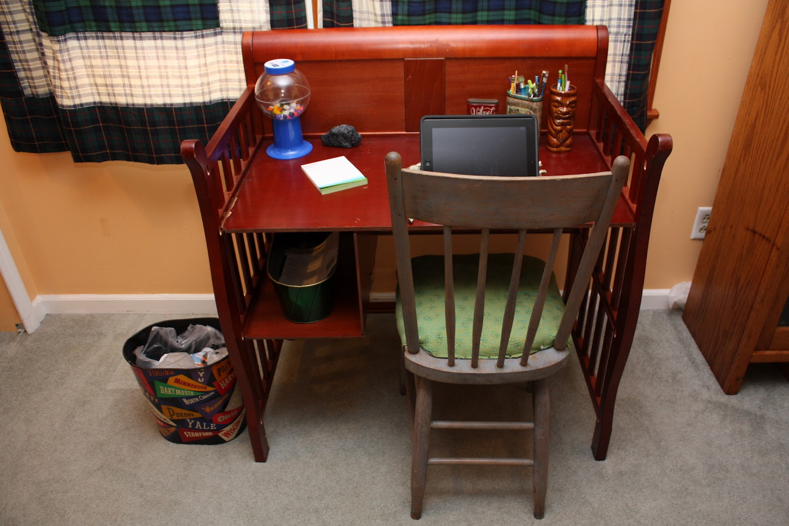 DIY: Repurpose Baby Furniture | www.mothertimemarketpace.com