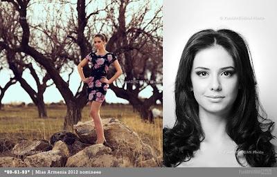 Miss Armenia Hayastan Միսս Հայաստան 2012 Katerina Abrahamyan