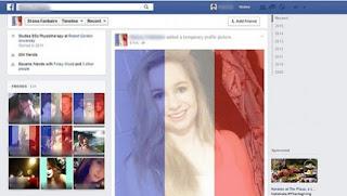 contoh tampilan filter foto profil fb