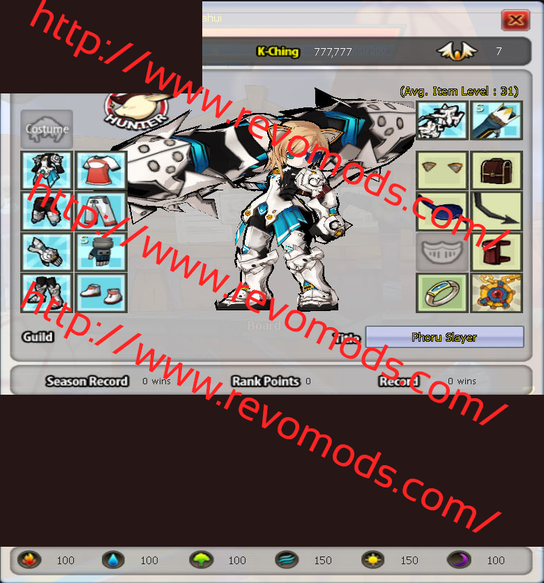 Elsword K-Ching Hack