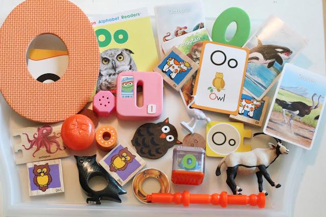 montessori, letter o, preschool, tot school