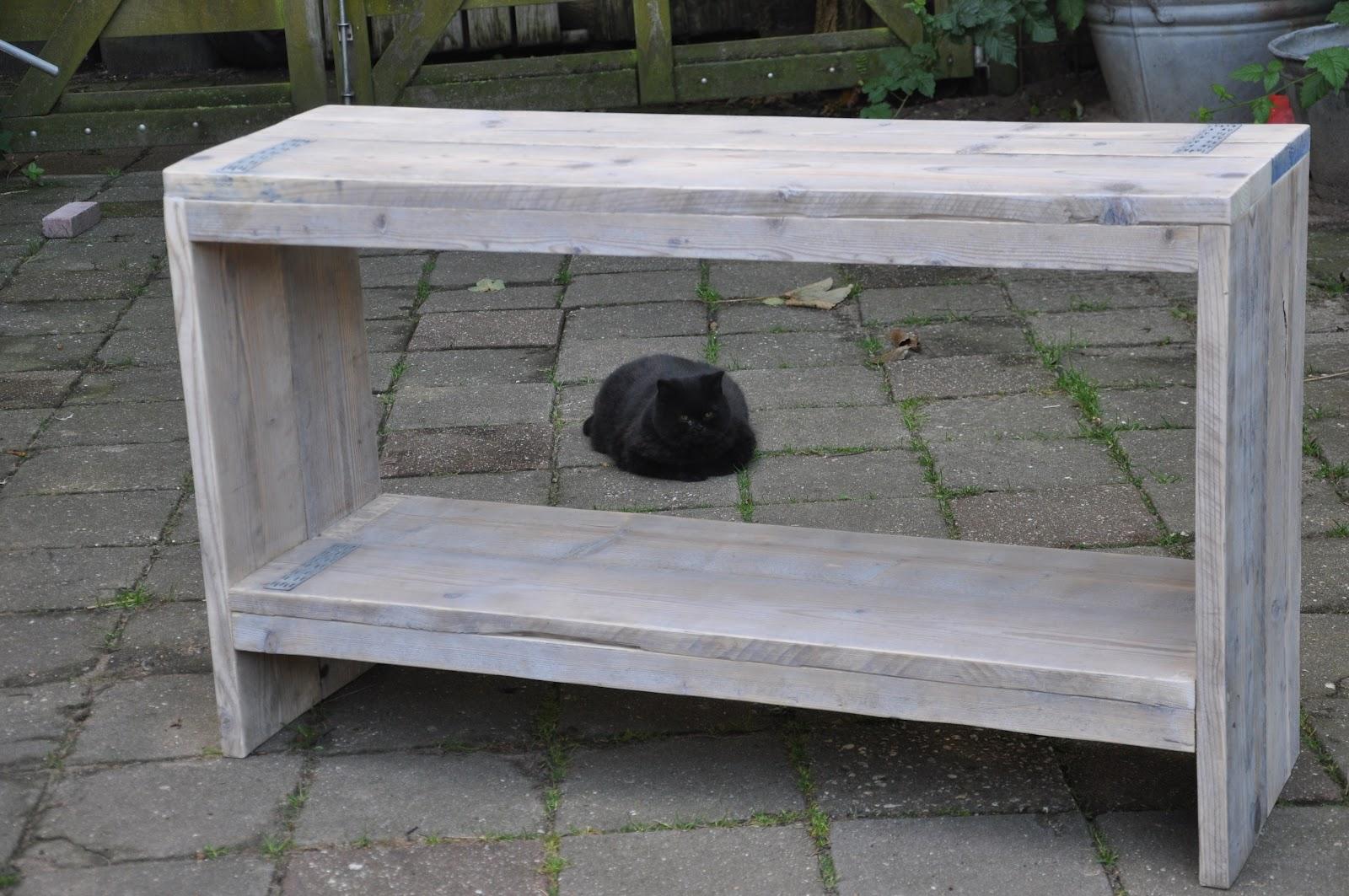 Houtwerkplaats for Sidetable steigerhout