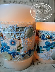 Stitched Luminary Wraps