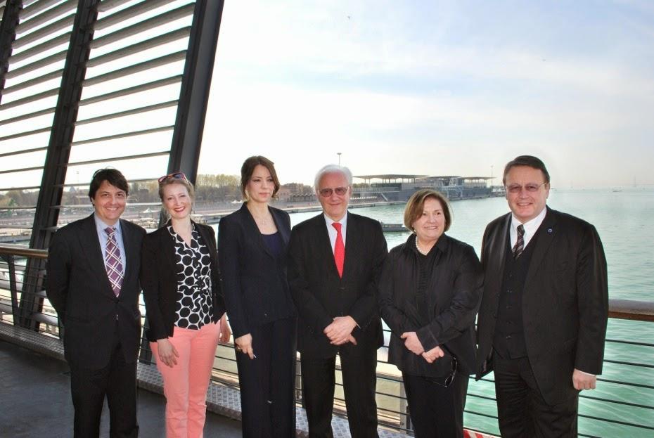 La commissione Itre (industria ricerca e energia) al porto di Venezia