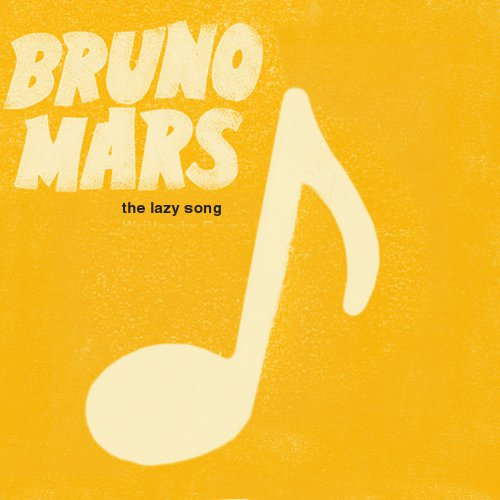 Bruno Mars Lazy Song