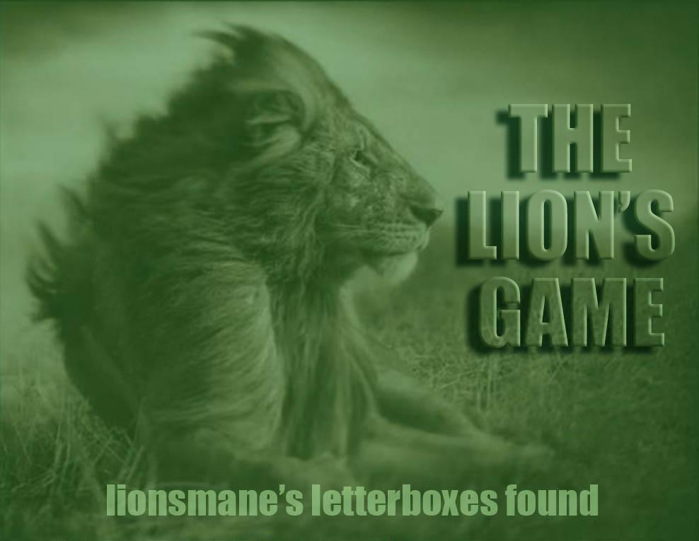 lionsmane's letterboxes found