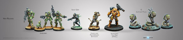 Corvus Belli Infinity the Game June new releases