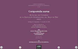 Página de título de la actas del congreso de Santiago