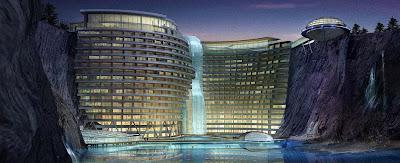 Un rascacielos hacia el subsuelo en China: InterContinental Shimao Shanghái Wonderland