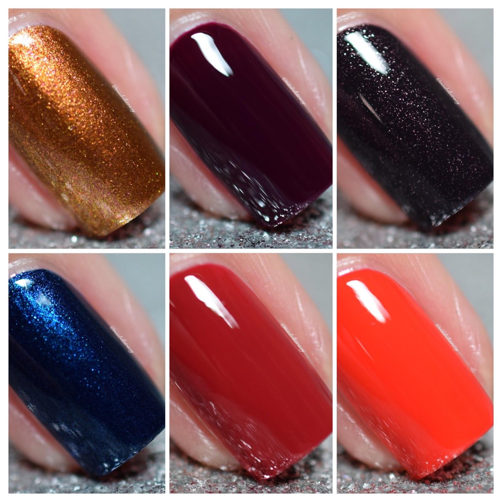 MissBellaTracey: Essie Fall 2015 Collection - Leggy Legends