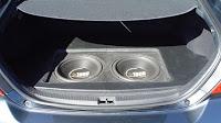 Scion (automobile) - Scion Tc Custom Sub Box