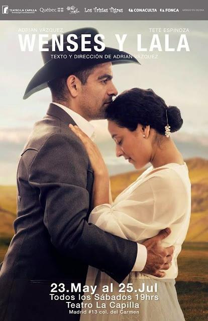 """Temporada de """"Wenses y Lala"""" en el Teatro La Capilla a partir del 23 de Mayo"""