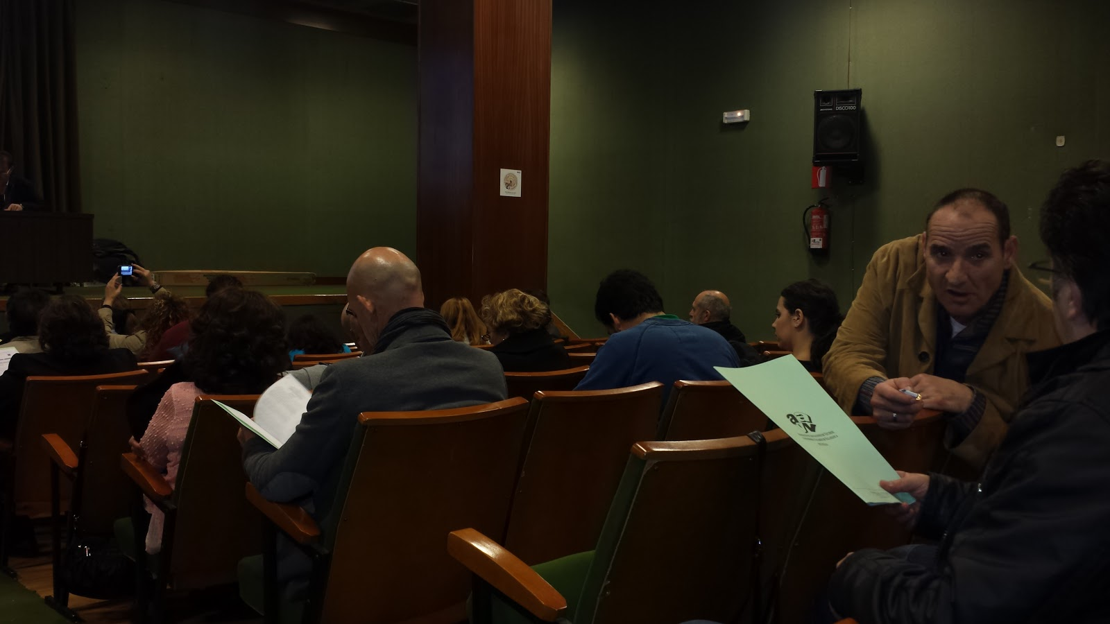 asistentes a la asamble ageneral FEVESA 2014 en Béjar