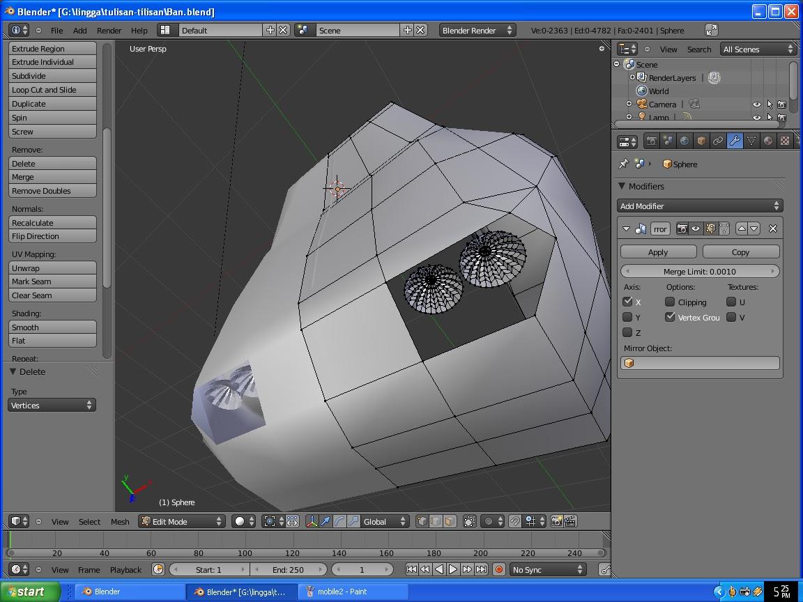 menggambar desain 3D mobil rumah kado ultah dll dengan blender 26 & menggambar desain 3D mobil rumah kado ultah dll dengan blender ...