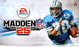 Screenshots of the Madden NFL 25 by EA Sports for Android tablet, phone.