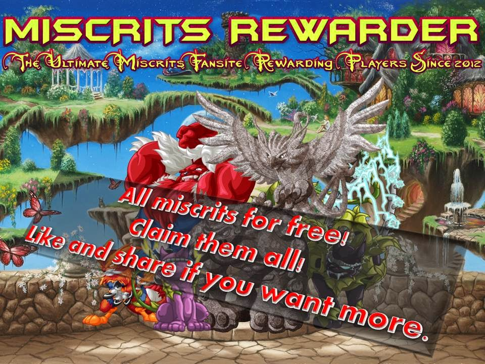 Claim all free miscrits.