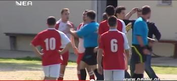 """ΧΑΜΟΣ: Χαστούκισε διαιτητή σε ματς στην ΚΡΗΤΗ και μετά έγινε το…""""έλα να δεις!!"""""""