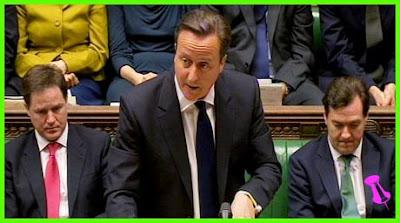 David Cameron is taking PMQ